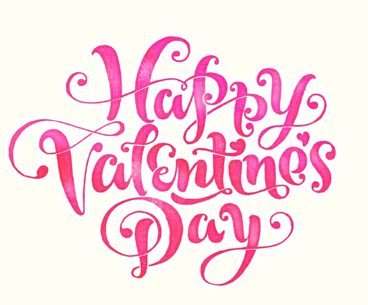 valentine's day   ... celebrate my love for lettering! Happy Valentine's Day everyone