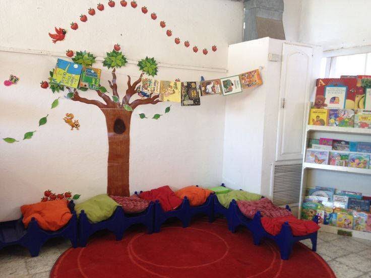 Espaci de lectura decorado de forma divertida biblioteca for Decoracion del hogar en pinterest