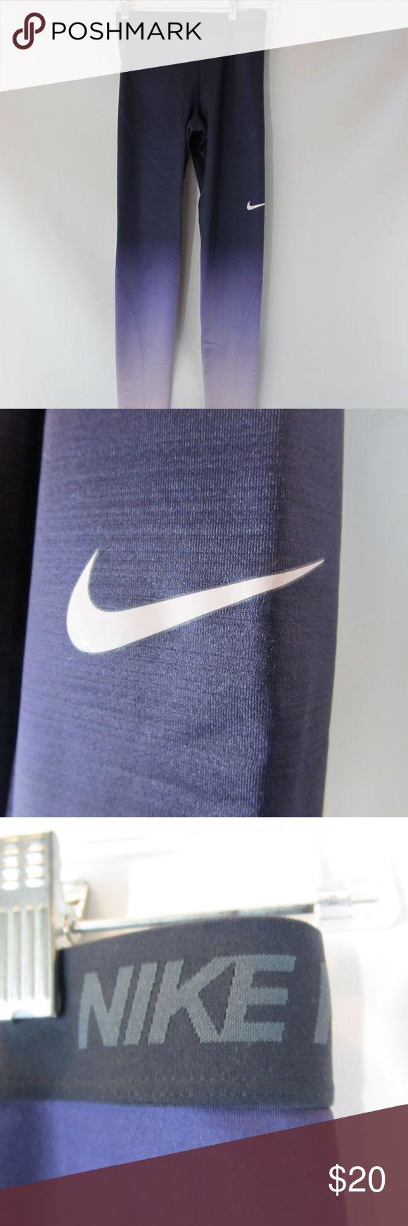 Nike Pro Hyperwarm Running Fitness Leggings Great for winter running! Tag Size: Medium Nike Pants Leggings