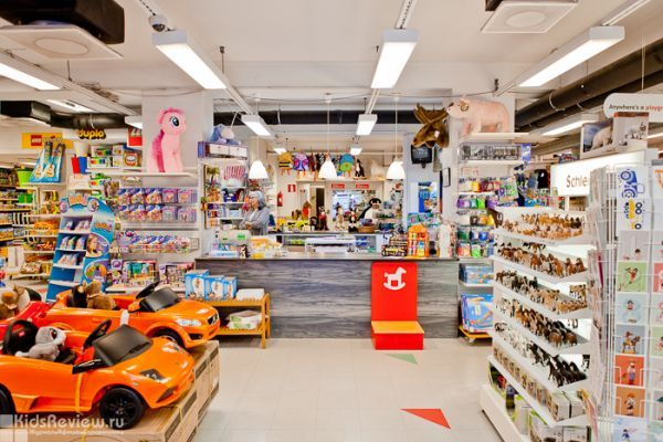 Petits Tresors toy shop, Turku, Finland, photo
