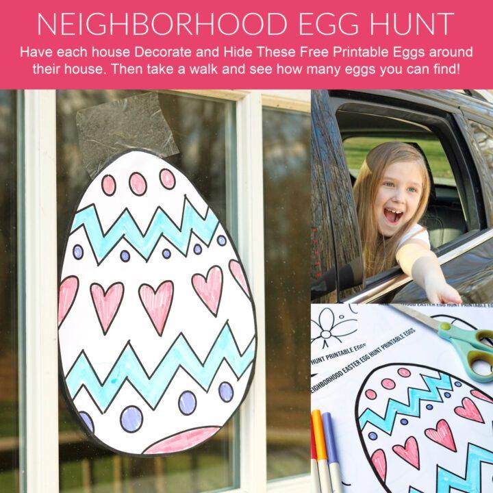 Neighborhood Easter Egg Hunt Printable Passion For Savings Easter Egg Hunt Egg Hunt Easter Egg Designs