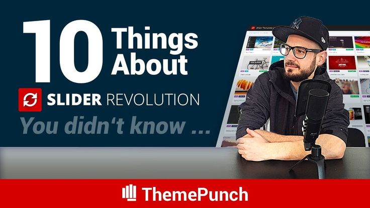 Another 10 things about Slider Revolution you probably didn't know...