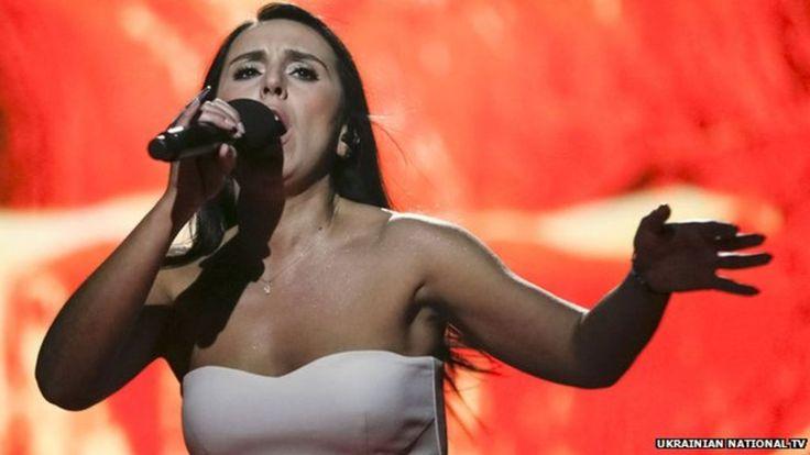 Eurovision's Ukraine singer Jamala pushes boundaries on Crimea - BBC News
