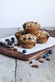 Recette de muffins aux bleuets, raisins et zeste d'orange   Recettes   PRANA