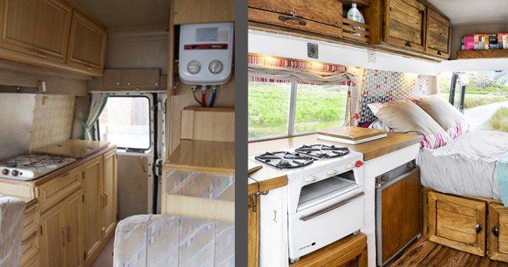 Fully transformed Camper Van for only £1000-Budget Breakdown