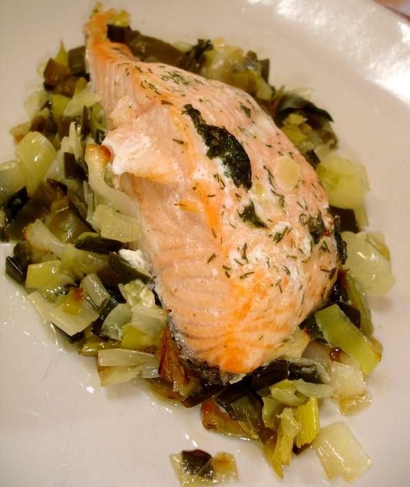 Healthy dinner recipes healthy salmon recipe healthy for Healthy fish dinner recipes