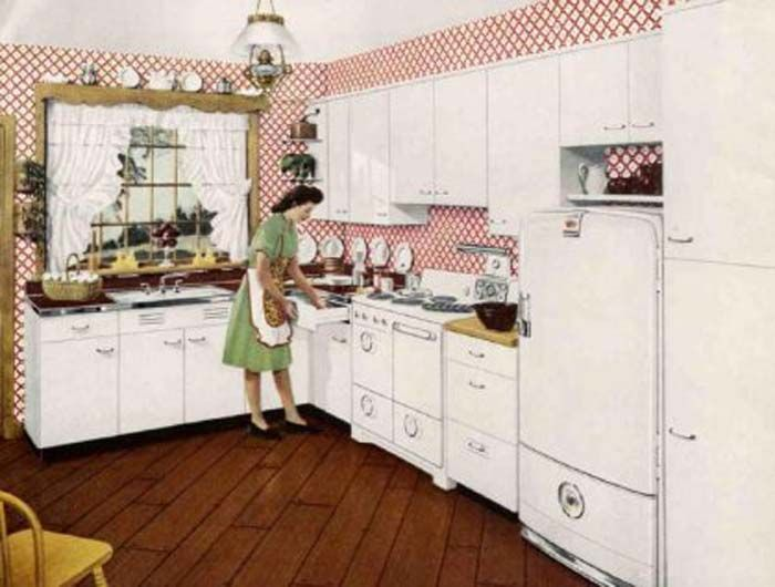25 best vintage 50's metal kitchen cabinets images on pinterest