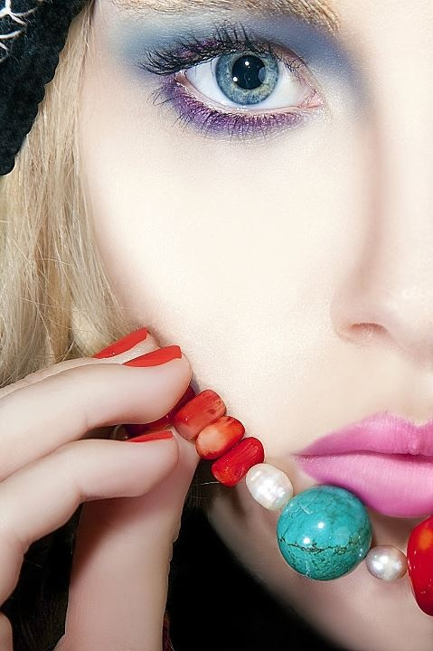Photo: Grant Collier, Model: Roxy Pope, Make-up: Ella Volino, Jewellery by Lisa Tamati.