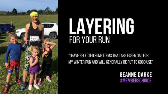 Layering for your run | Commander HQ talks to our club member Geanne Darke