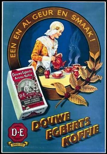 Douwe Egberts advertentie uit 1938