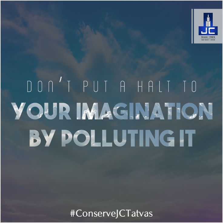 The sky inspires us to explore the unthinkable, so, go beyond the expected & make this world a better place for every form of life. #ConserveJCTatvas