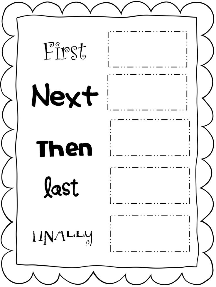 28 best images about Sequencing on Pinterest | Anchor charts ...