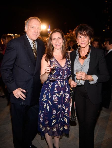 Mercedes Ruehl Photos Photos - Rachel Foster, Mercedes Ruehl and John Doman arrives at  the Coalition Against Trafficking In Women honoring Lynn And John Savarese at Tribeca Rooftop on October 5, 2016 in New York City. - Coalition Against Trafficking in Women Honors Lynn and John Savarese