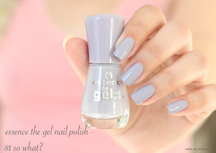 essence the gel nail polish - 81 so what?