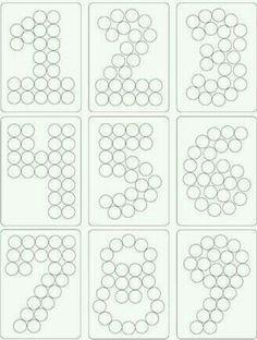 Entonces puede, por ejemplo, de Cupcakes o regaliz redondo pequeño / Smarties los números …   – Zukünftige Projekte