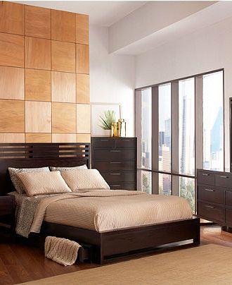 Tahoe Noir Bedroom Collection Macy S 3 Pc Set 1699 Master