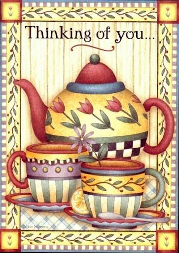 Please come for tea Mary Englebreit