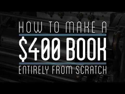ゼロから素材を集めて本を自作する方法&一体いくらかかるのか? - GIGAZINE