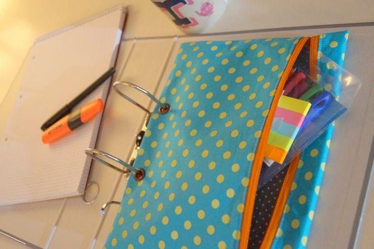 lachkauz stiftemappe f r den ordner n hen taschen. Black Bedroom Furniture Sets. Home Design Ideas