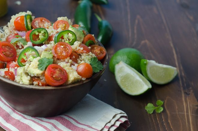 Brown Rice Salad With Cumin And Lime Vinaigrette Recipe — Dishmaps