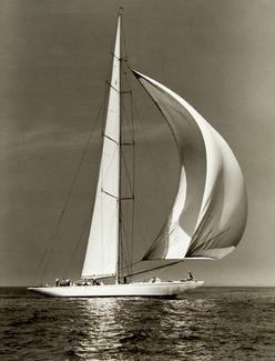 YANKEE, J Class, #2, New York Yacht Club Cruise, 1936 Rosenfeld Search | Mystic…