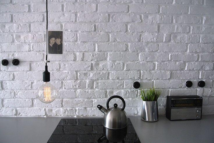 Kolorowe kable, lampy loft, kable w oplocie, żarówki dekoracyjne http://www.sklep.imindesign.pl/nasze-galerie/nowoczesne-wnetrza