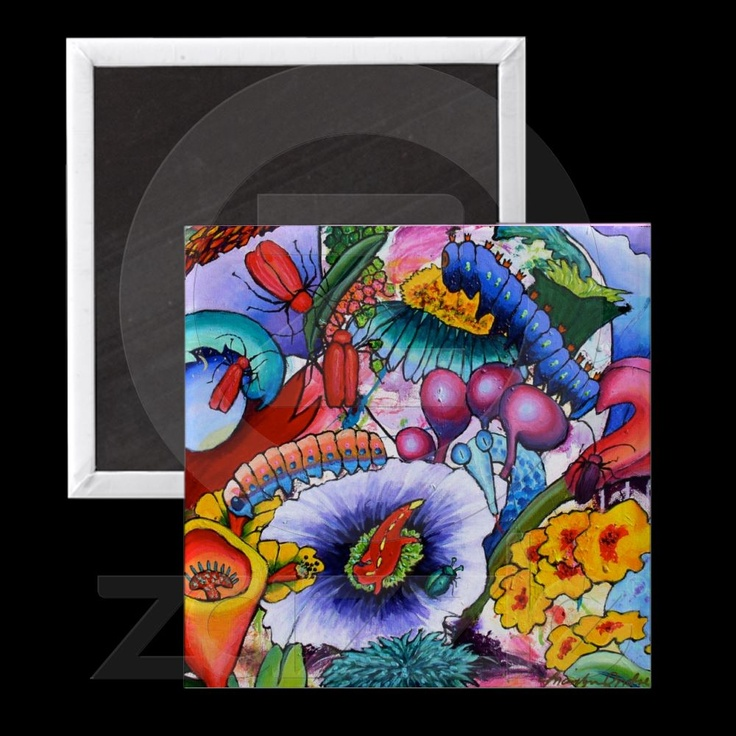 2240 We Have Creatures In Our Garden Magnet - http://www.zazzle.com/passionartz*
