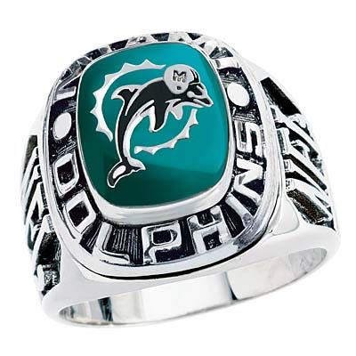 Miami Dolphins Team Ring. I WEAR MINE EVERY DAY.