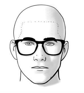 3ef49d94b91c0 Homem No Espelho - Óculos e formatos de rosto - Oval   Inspiração ...