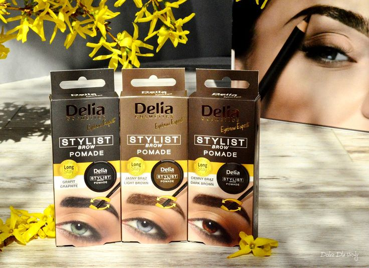 Delia Stylist Brow Pomade Pomada do brwi