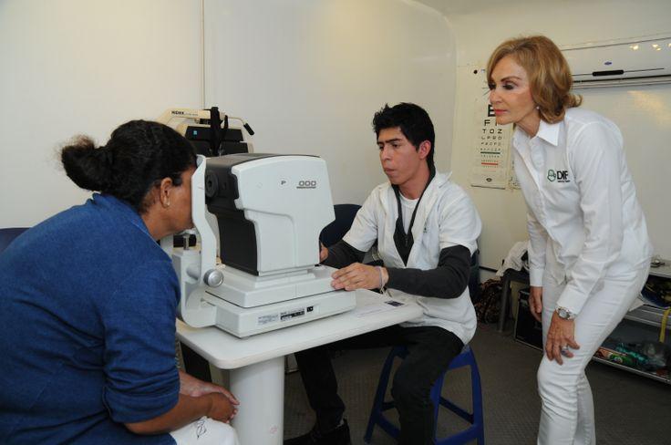 Nuestra Unidad Móvil está equipada con aparatos de alta tecnología,útiles para dar una atención #médica confiable y certera. #Salud #visual