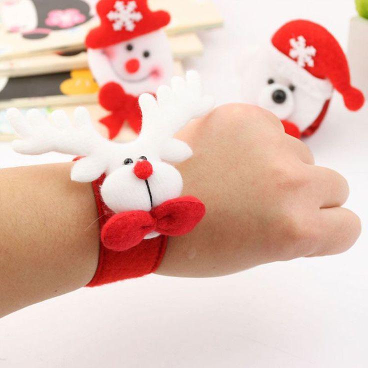 Christmas Snowman Santa Claus Bracelet