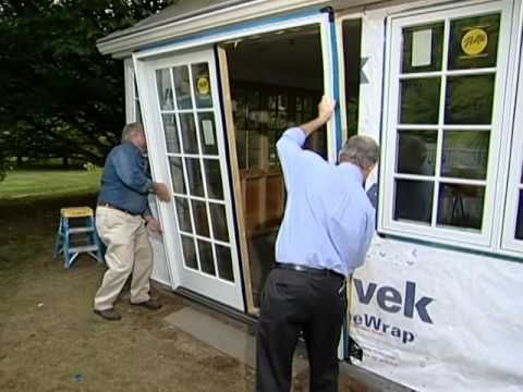 How to Make a Four Season Room from a Porch - YouTube