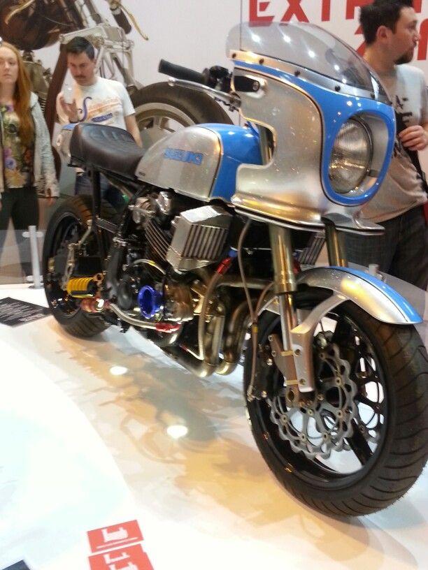 Retro Custom Suzuki GS