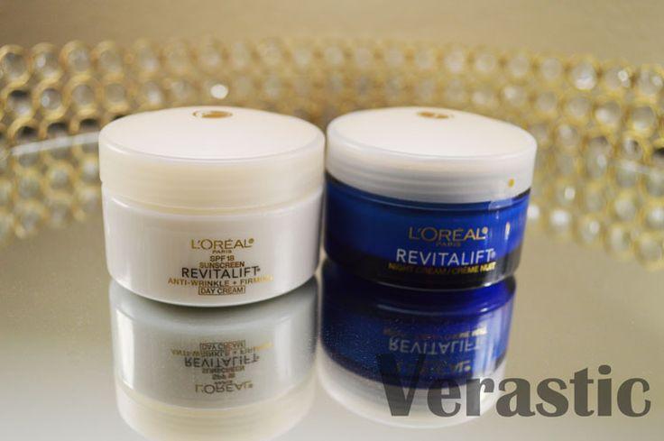 L'Oreal Revitalift Anti-Wrinkle + Firming Day Cream Moisturizer & Night Cream