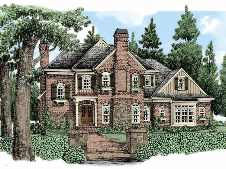 nice country home building plans. French Country Style 2 story 4 bedrooms s  House Plan with 4083 total square 140 best Modern Plans images on Pinterest 2nd floor