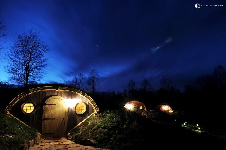Unique Underground Camping Pod Rental on Crop Farm for Vacation near Nashville, Tennessee