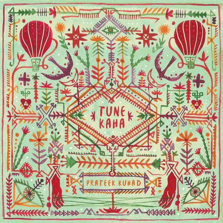 Tune Kaha//Prateek Kuhad on Behance Album art, Tune