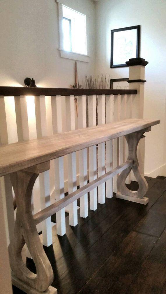 The LuAnn Hall Sofa Entry Shabby Elegant Table By Thelakenest