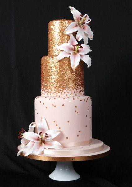 Las nuevas tendencias en tartas de boda, según los expertos