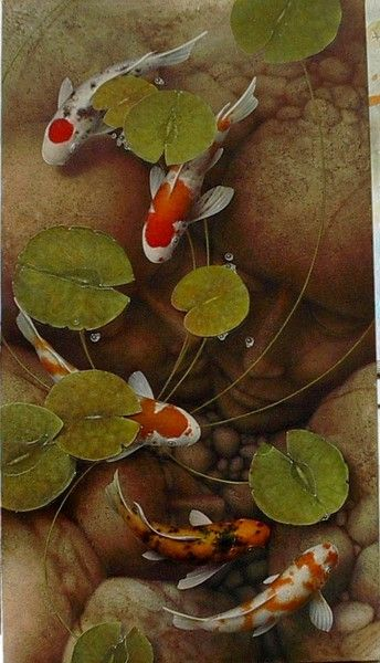 75 best images about japanese coy fish references on pinterest for Koi fish japanese art