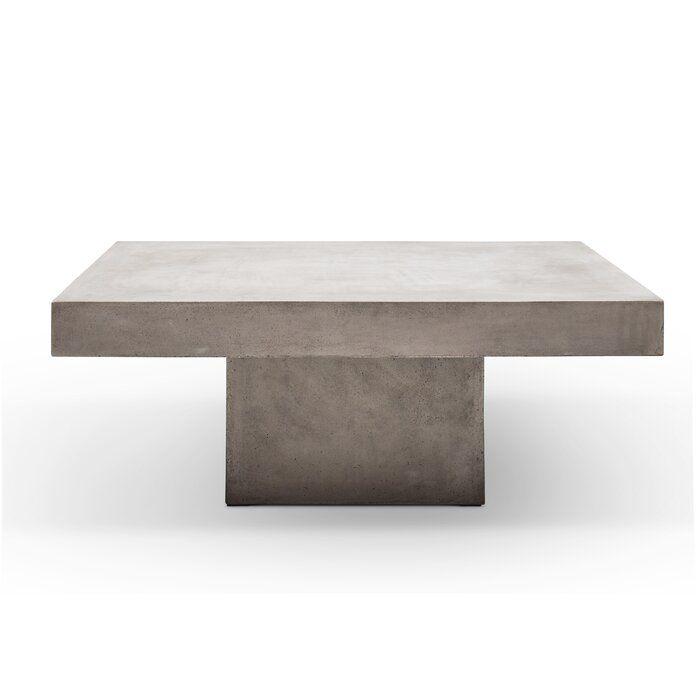 Ranchester Coffee Table In 2020 Unique Coffee Table Table Cement Table