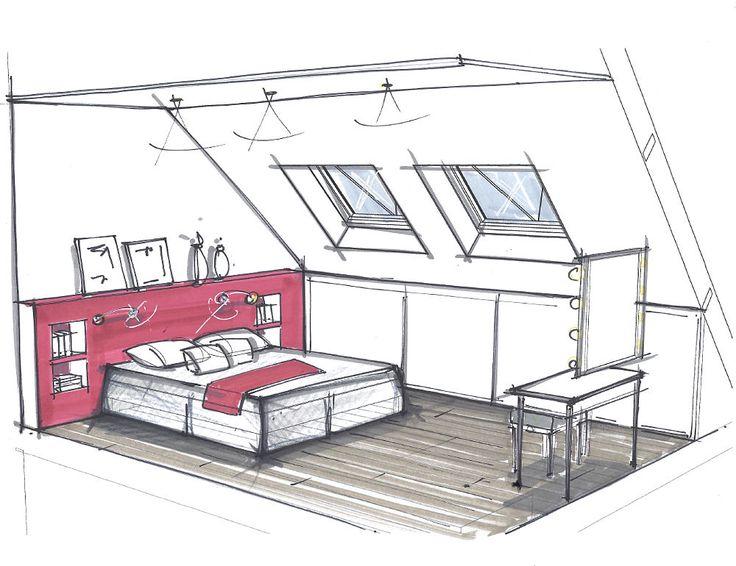 les 35 meilleures images du tableau perspectives sur. Black Bedroom Furniture Sets. Home Design Ideas
