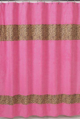 Cheetah Girl Pink and Brown Kids Bathroom Fabric Bath Sho... https://www.amazon.com/dp/B003YVSV1M/ref=cm_sw_r_pi_dp_jPvBxb2CXZFT0