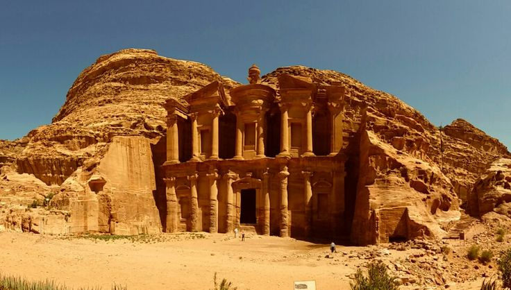 PETRA SITE. THE MONASTERY.