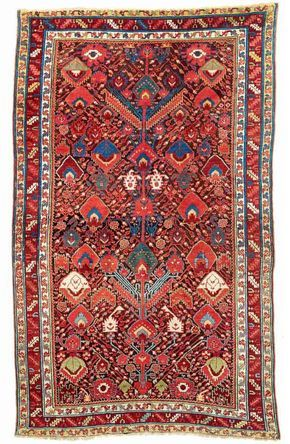Lot 159 Kürt Sauj Bulag 264 x 163 cm. İkinci yarı 19. yüzyıl. Tahmin EUR 14,500.00
