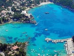 Greece. Corfu Paleokastritsa - the bluest water I have ever seen!