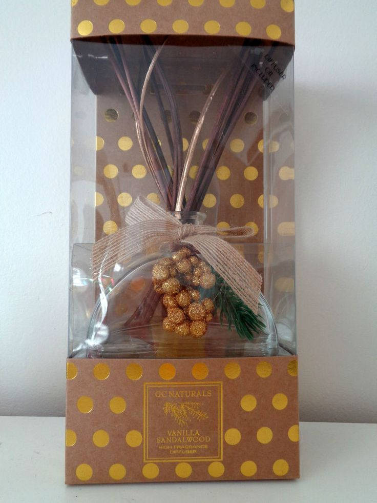 Details About Winter Reed Diffuser By Gc Naturals In