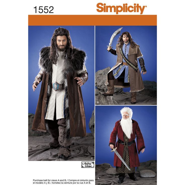 """men's medieval sleeveless or long sleeved tunic can be made with buttons or   laces down the front. the cloak has sleeve and collar variations. also comes with sash, belt and boot   tops.<p></p><img src=""""skins/skin_1/images/icon-printer.gif"""" alt=""""printable pattern"""" /><a href=""""#""""   onclick=""""toggle_visibility('foo');"""">printable pattern terms of sale</a><div id=""""foo"""" style=""""display:none; margin-  top: 10px;"""">digital patterns are tiled and labeled so you can print and assemble in the comfor..."""