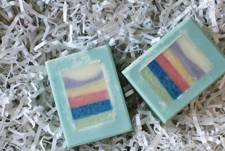 Blue Water Soap - One Leaf Soap-Natural Handmade Soaps